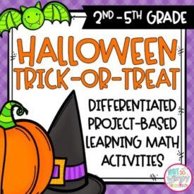Halloween PBL activity